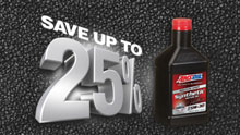 Save 25% with Amsoil's preferred customer program
